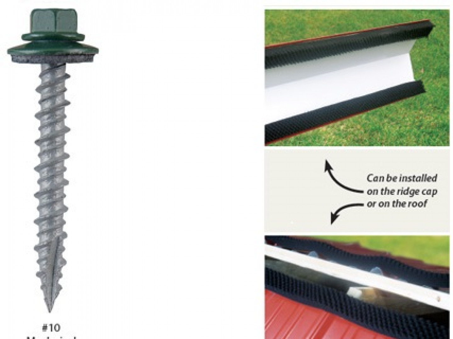Screws & other metal roofing accessories